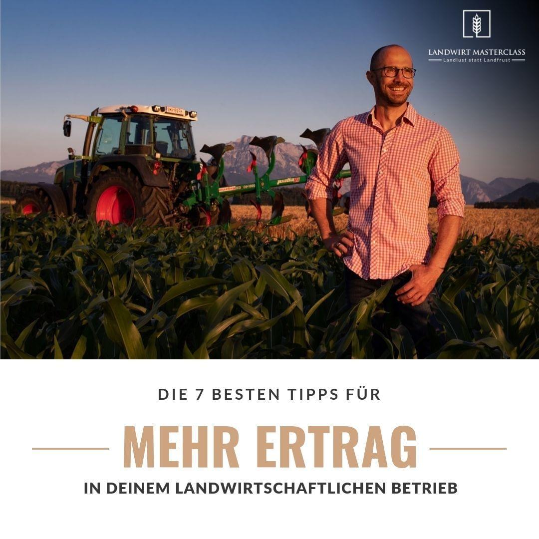 Mehr Ertrag pro Hektar
