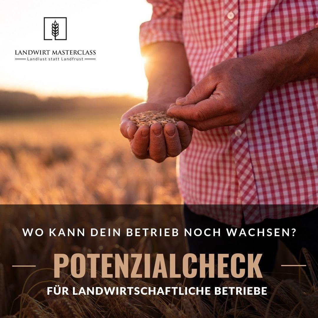Landwirtschaftliche Beratung Potenziale